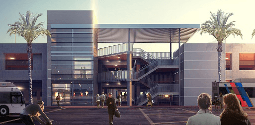 SAN – Parking Plaza